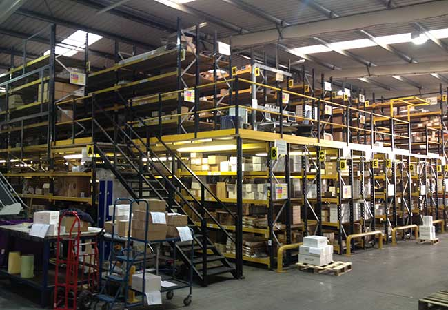 Multi Tier Shelving Leeds