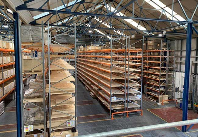 Used Narrow Aisle Racking